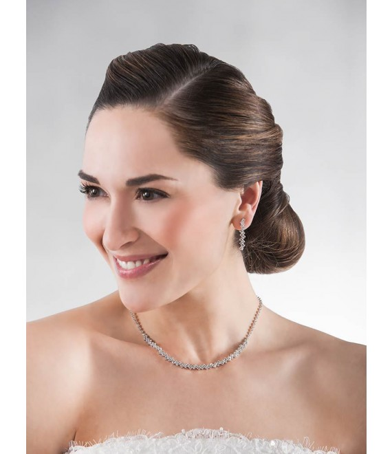 Emmerling necklace and Earrings 66178- The Beautiful Bride Shop