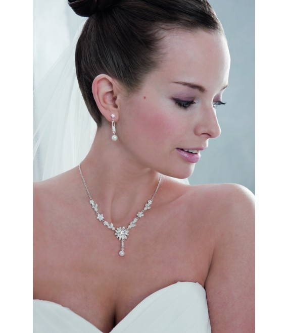 Emmerling necklace and Earrings 66043 - The Beautiful Bride Shop