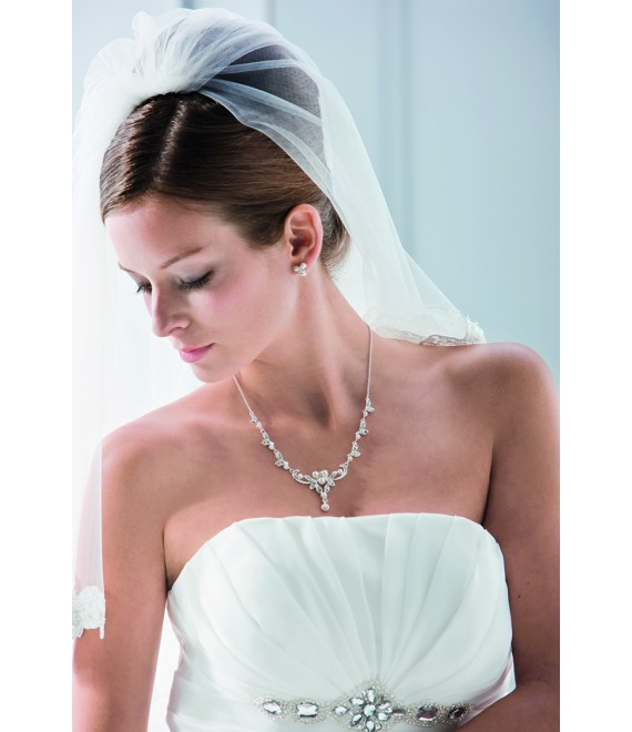 Emmerling necklace and Earrings 66089 - The Beautiful Bride Shop