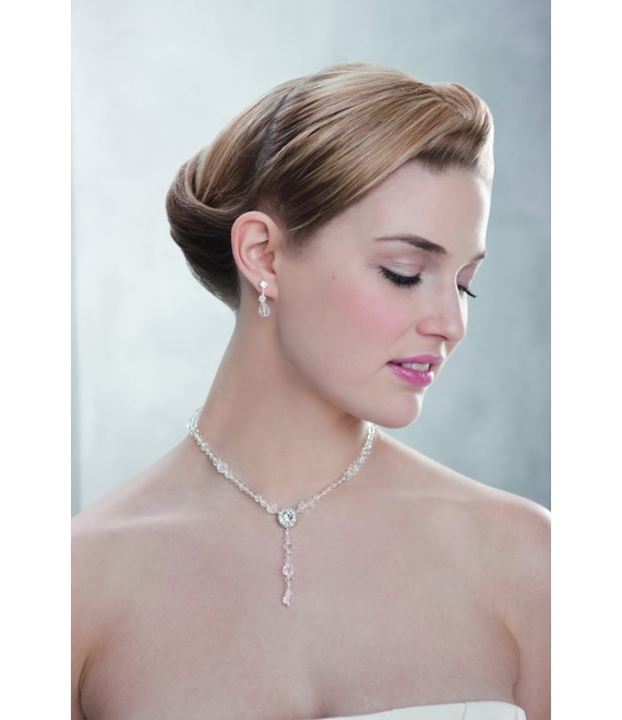 Emmerling necklace and Earrings 66105 - The Beautiful Bride Shop