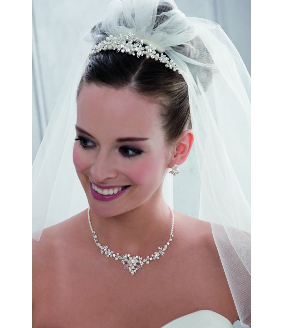 Emmerling necklace and Earrings 66110 - The Beautiful Bride Shop
