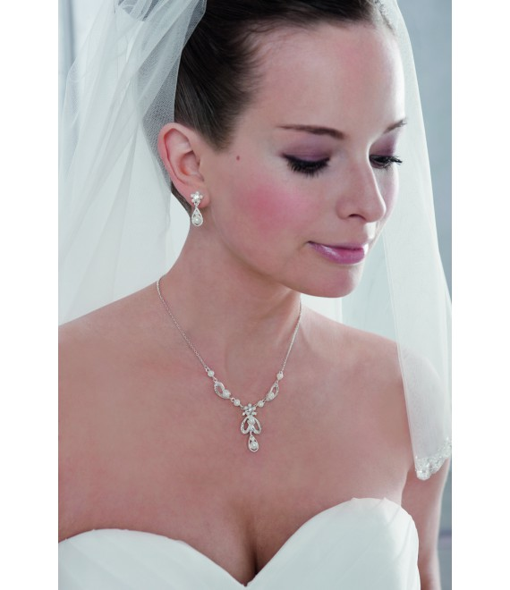Emmerling necklace and Earrings 66035 - The Beautiful Bride Shop