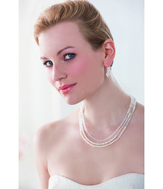 Emmerling necklace and Earrings 66150 - The Beautiful Bride shop