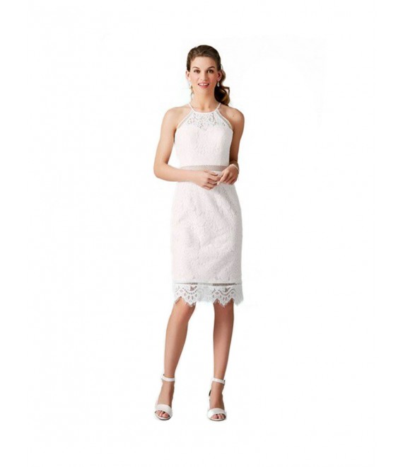 LILLY - Lace dress (03-3977) 3 - The Beautiful Bride Shop
