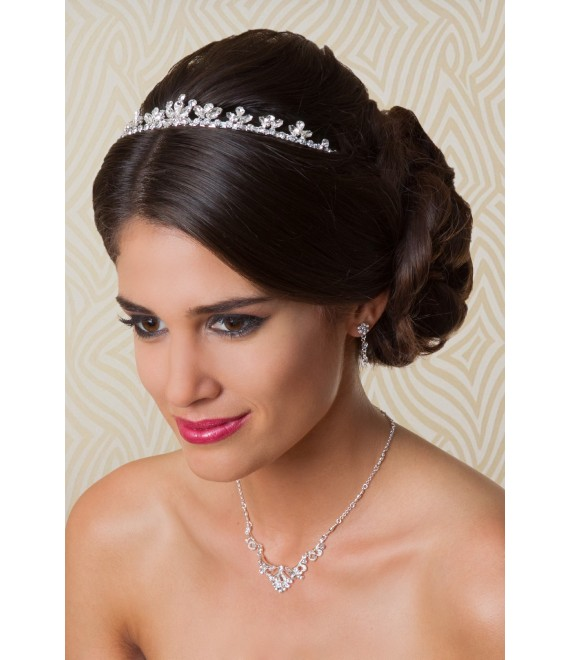 G. Westerleigh Tiara TS-J1050 - The Beautiful Bride Shop