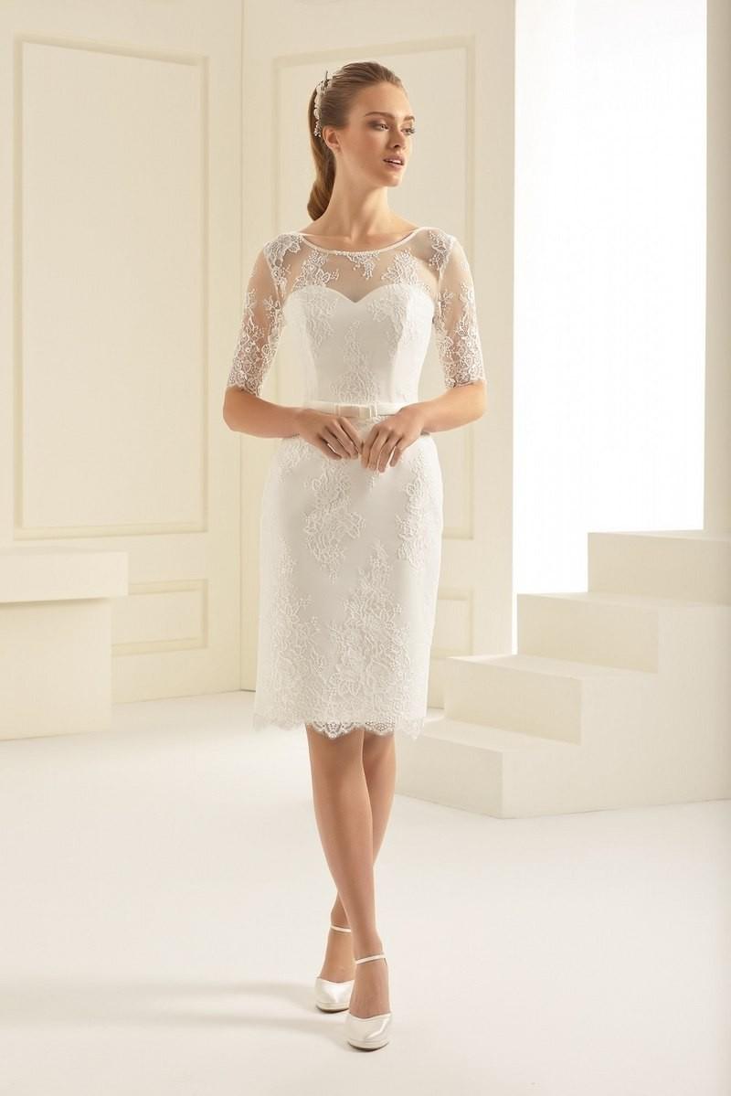 Short wedding dress Greta buy online | Beautiful Bride Shop