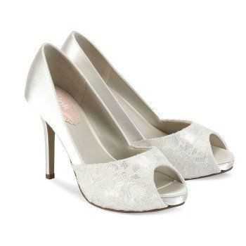 Paradox London Pink Wedding Shoe Fancy 2