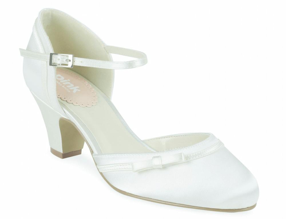 Brautschuhe ivory 10 cm