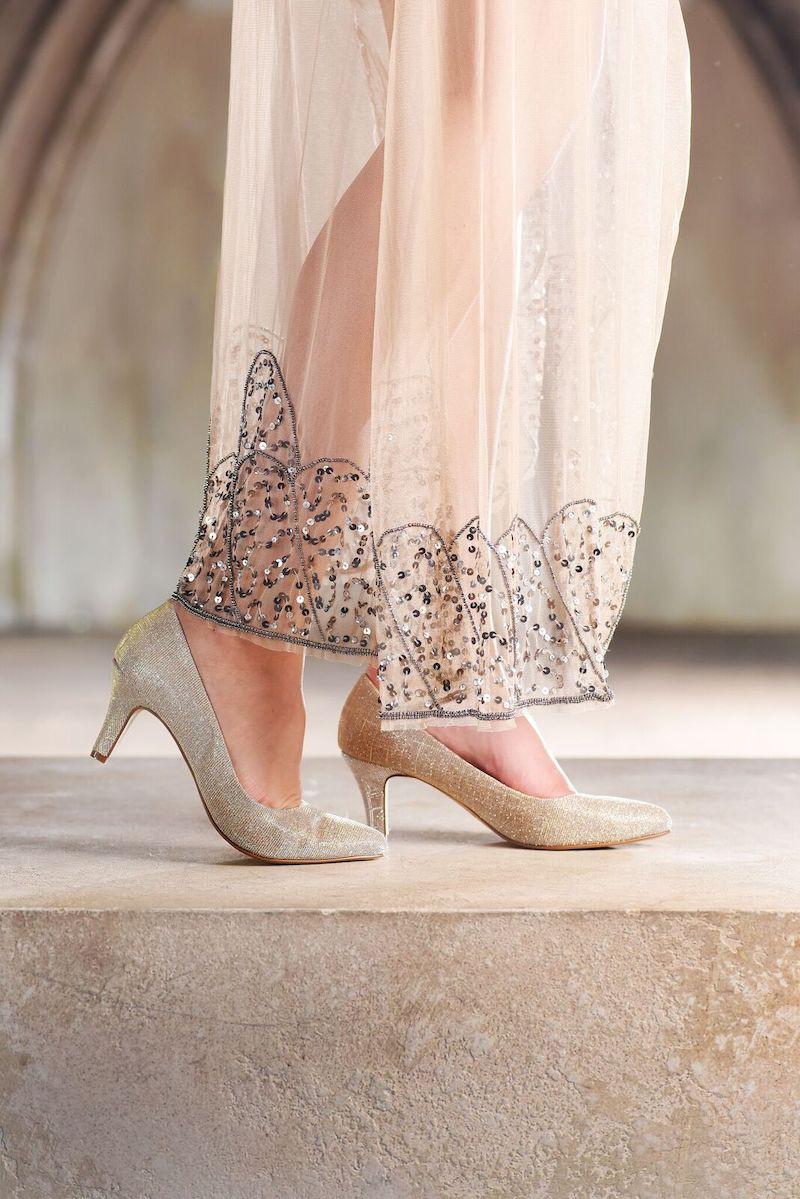 198943b8ec8c99 Rainbow Club Wedding Shoes Brooke Gold - The Beautiful Bride Shop 8