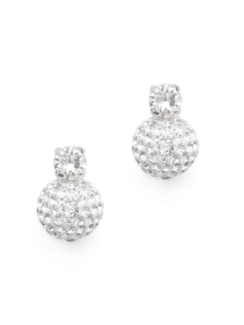 Emma Bridal Earrings Abrazi O6 Skt Mc 10mm