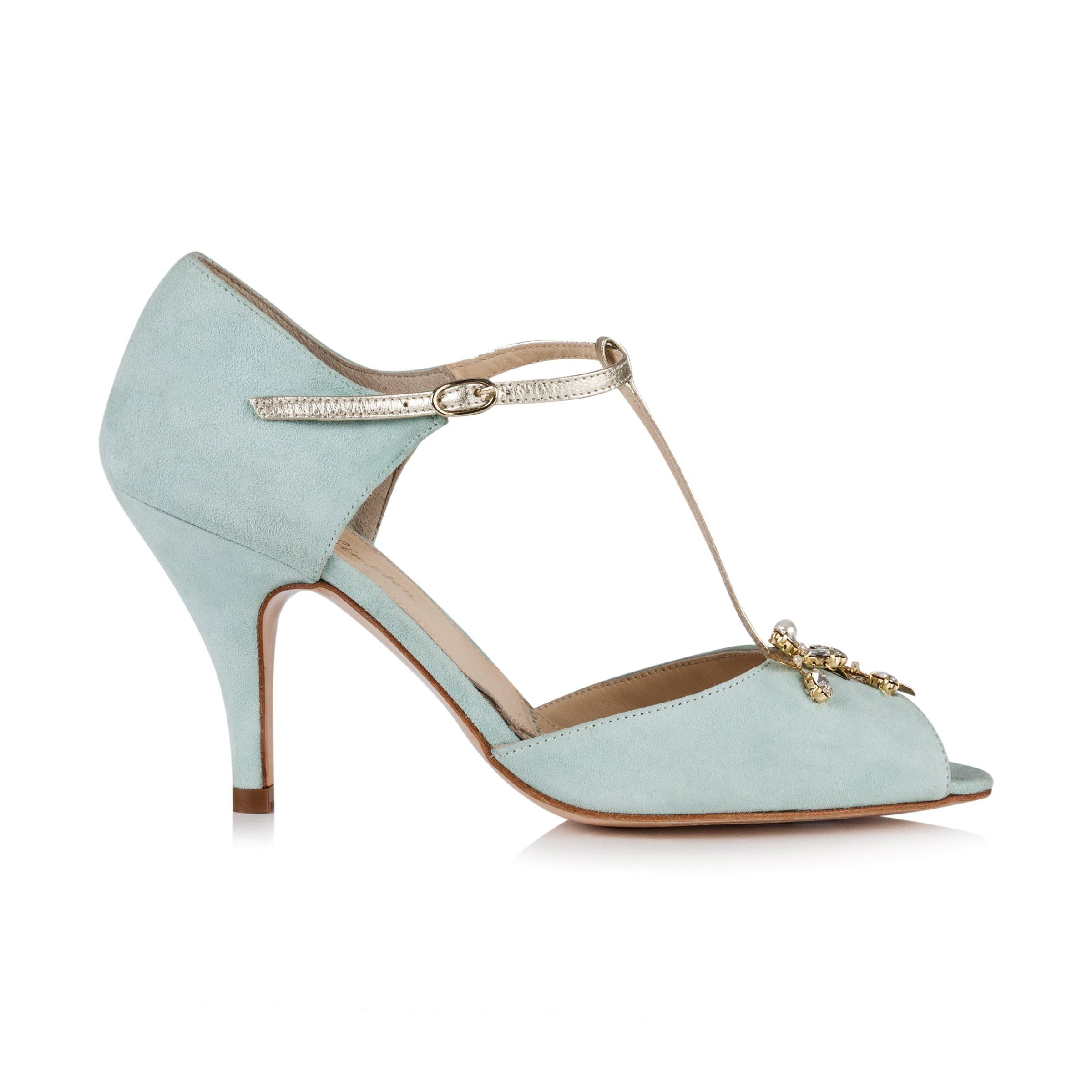abcc340e82b Rachel Simpson Wedding Shoes Amalia Mint