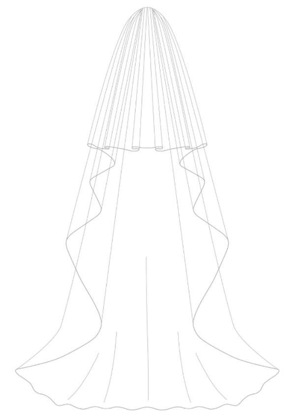 bianco evento veil s126 diamond buy online beautiful bride shop. Black Bedroom Furniture Sets. Home Design Ideas