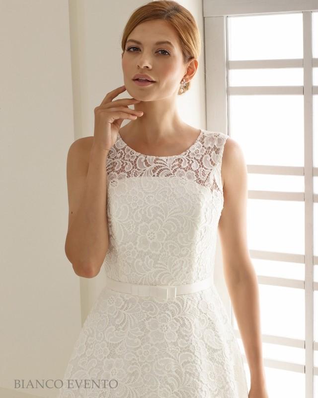 Short vintage wedding dress Siena buy online | Beautiful Bride Shop