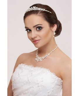 Tiara, Necklace and Earrings