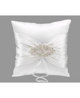 Emmerling Style 39042 Ivory Jewelled Ring Cushion