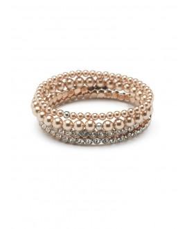 Scarlett | Bridal Bracelet - Abrazi 4 Bracelet Rose
