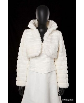 Achberger Faux-fur jacket 60501