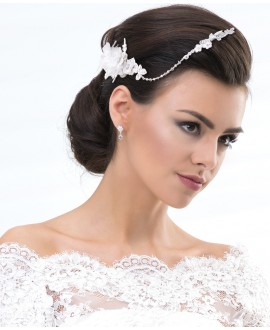 Fine lace hair band  (7488)