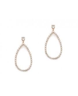 Abrazi Bridal Earrings O7-OV Rose