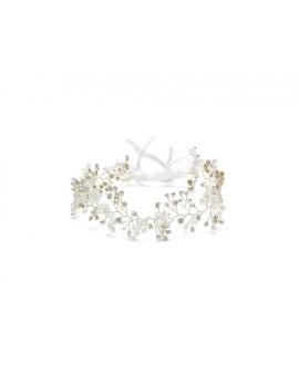 Abrazi Bridal Headband HB-PCR-G