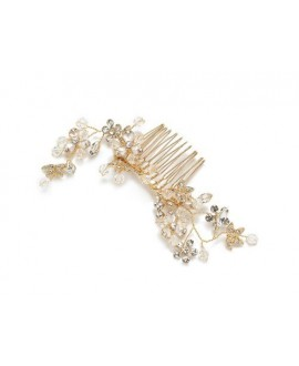 Abrazi Bridal Haircomb H2-Flower