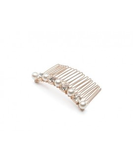 Abrazi Bridal Haircomb H3-PC Rose