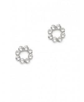 Abrazi Bridal Earrings O5-OVL-SKT