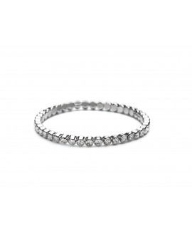 Abrazi Bridal Bracelet AC-P32 Rhodium
