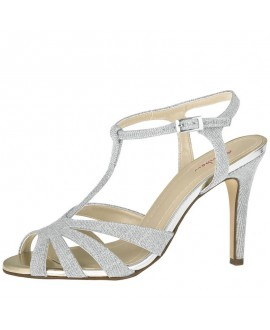 Rainbow Club Wedding shoe Annabel Silver