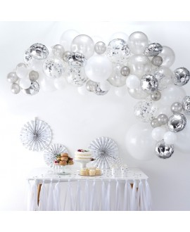 Silver Balloon Arch Kit BA-302 | Ginger Ray