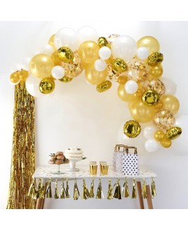 Golden Balloon Arch Kit BA-303 | Ginger Ray