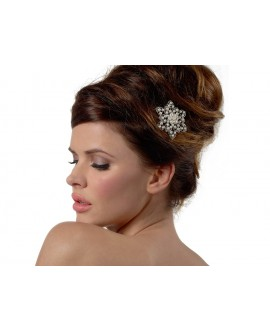 Hair Jewelry; pearl flower BB-1571 Poirier