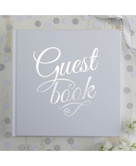 Drop Top Wooden Frame Alternative Guest Book - Boho