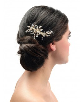 Poirier Bridal Haircomb BB-438 Gold