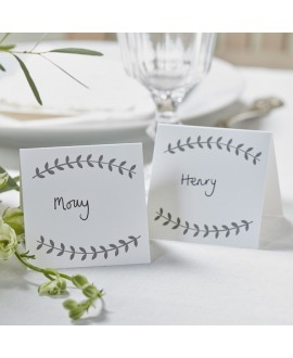 Vine Place Cards - Boho