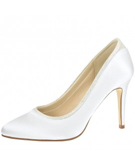 Rainbow Club Wedding shoe Billie White