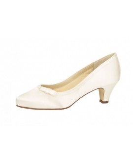 Rainbow Club Wedding shoe Josephine White