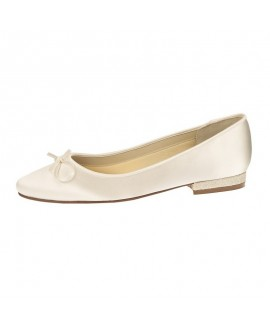 Rainbow Club Wedding shoe Annabel Gold