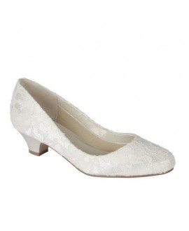 Paradox London Pink Wedding shoe Bon Bon