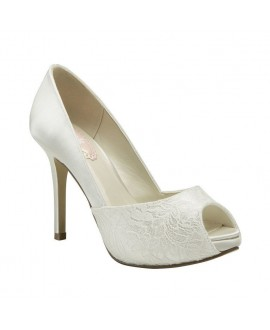 Paradox London Pink Wedding shoe Fancy