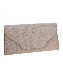 Rainbow Club Envelope Clutch Saskia Gold-Metallic