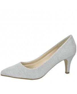 Rainbow Club Wedding shoe Brooke Silver