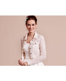 Lace Jacket  09-3801-CR Lilly