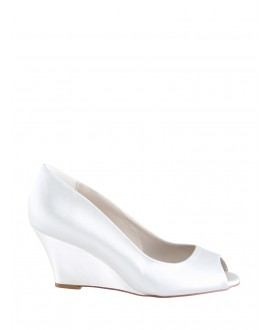 The Perfect Bridal Company Wedding Shoes Flora Satin