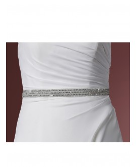 Belt; strass C-8806, Poirier