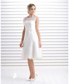 Short vintage wedding dress Calendula