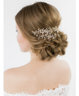 Abrazi Bridal Headband HB-TREE Gold