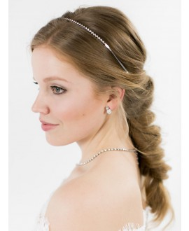 Emma | Bridal Earrings - Abrazi O6-SKT-MC 8MM
