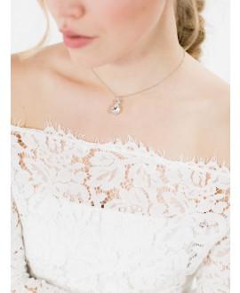 Emma | Bridal Necklace - Abrazi KC-BC-MC-10
