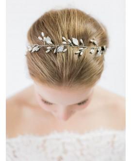 Abrazi Bridal Hair Vine HB-FD Silver
